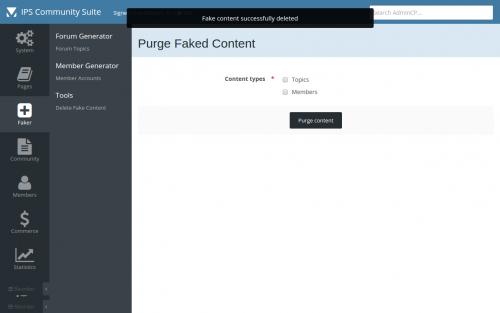 Fake Content Generator - Developer Resources - Invision Community
