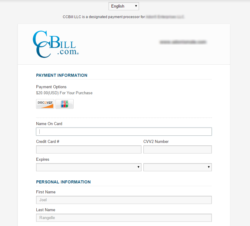 does ccbill accept paypal