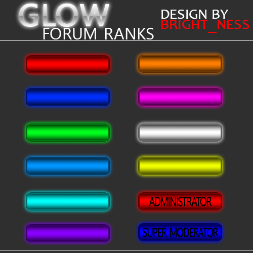 Screenshot for Glow Ranks Bar
