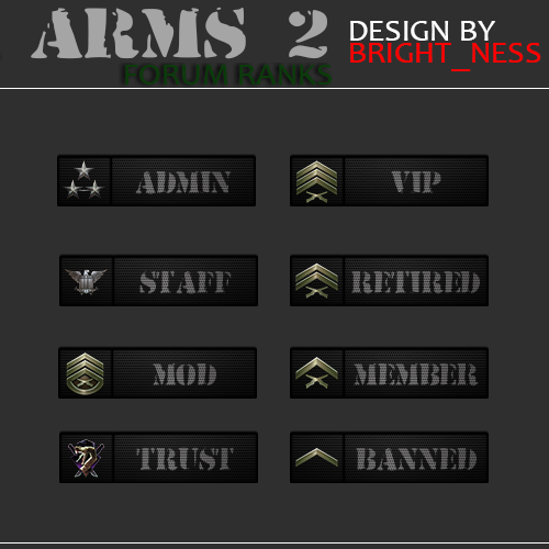 Screenshot for Arms 2 Gamers rank bar