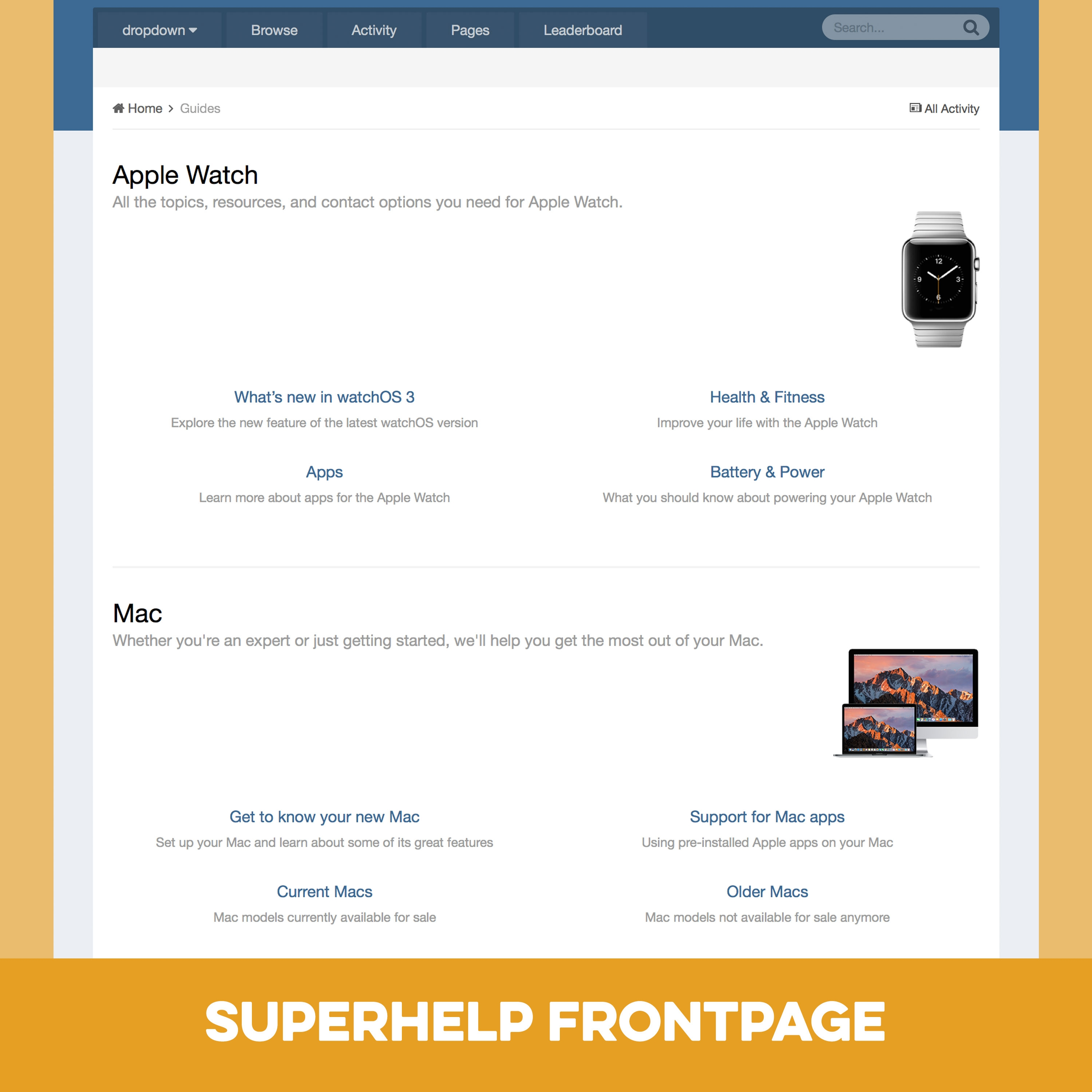 Pages SuperHelp