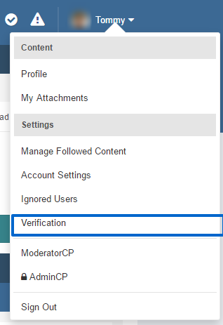 (itzverified) member verification