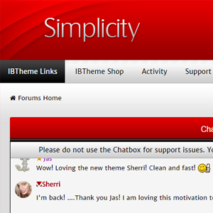 Screenshot for Simplicity Red 4.2.x
