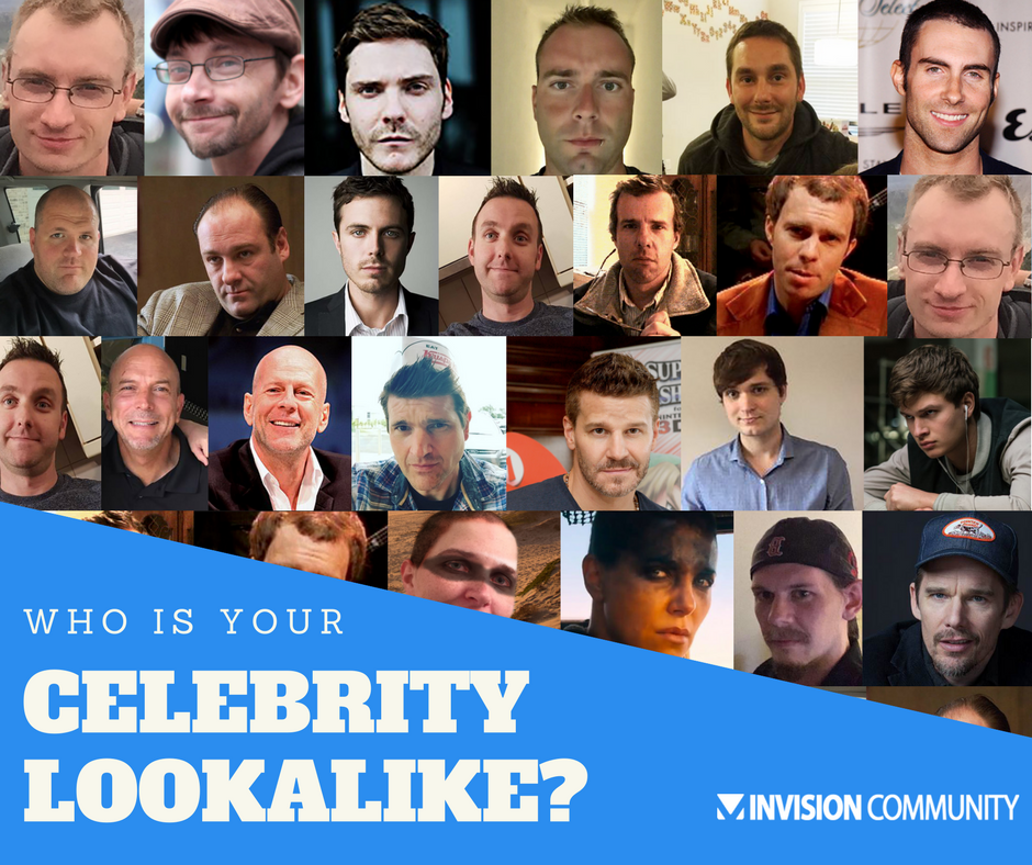 Team Talk: Who is your celebrity look-alike?