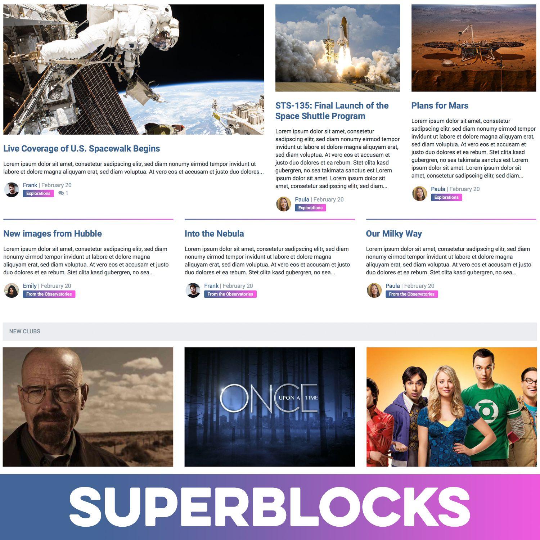 Pages SuperBlocks