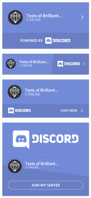 Brilliant Discord Integration